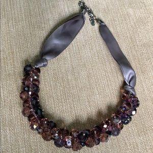 Ali khan crystal necklace